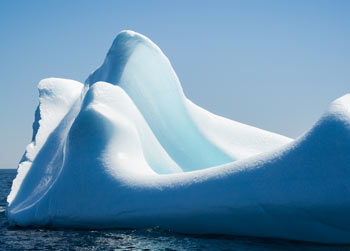 Smooth icebergs